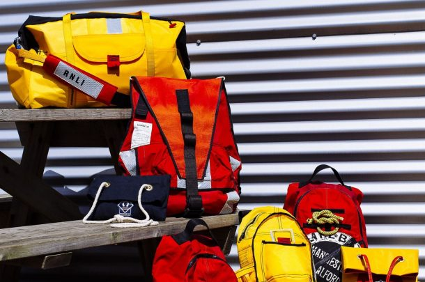 Fashion Students Collaborate with the RNLI Upcycling Life Jackets