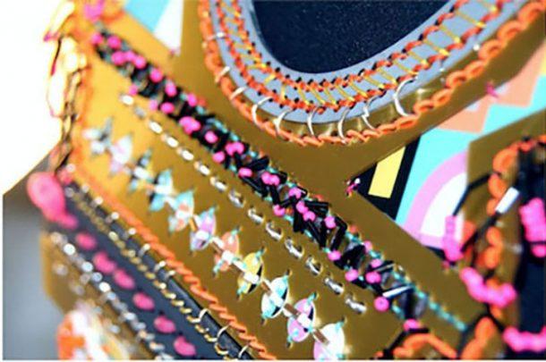 Two BA (Hons) Textiles alumni exhibit at Hand & Lock awards at Bishopsgate Institute