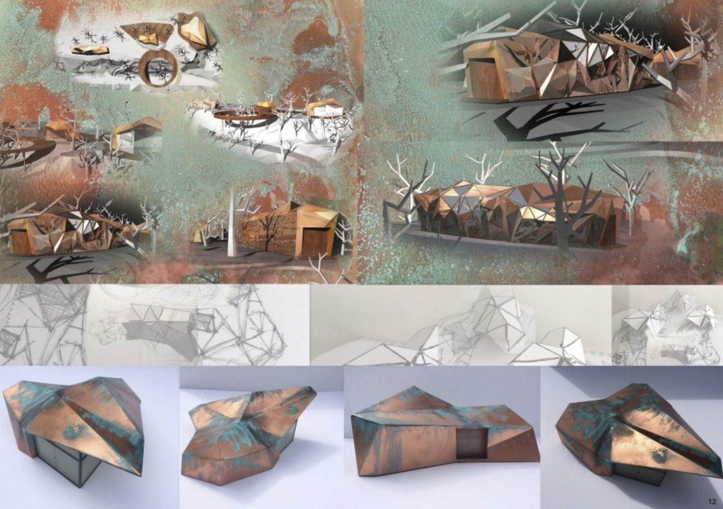 Work by Mel Kaviani