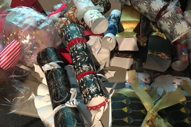 Architecture and Textiles students design Christmas Crackers