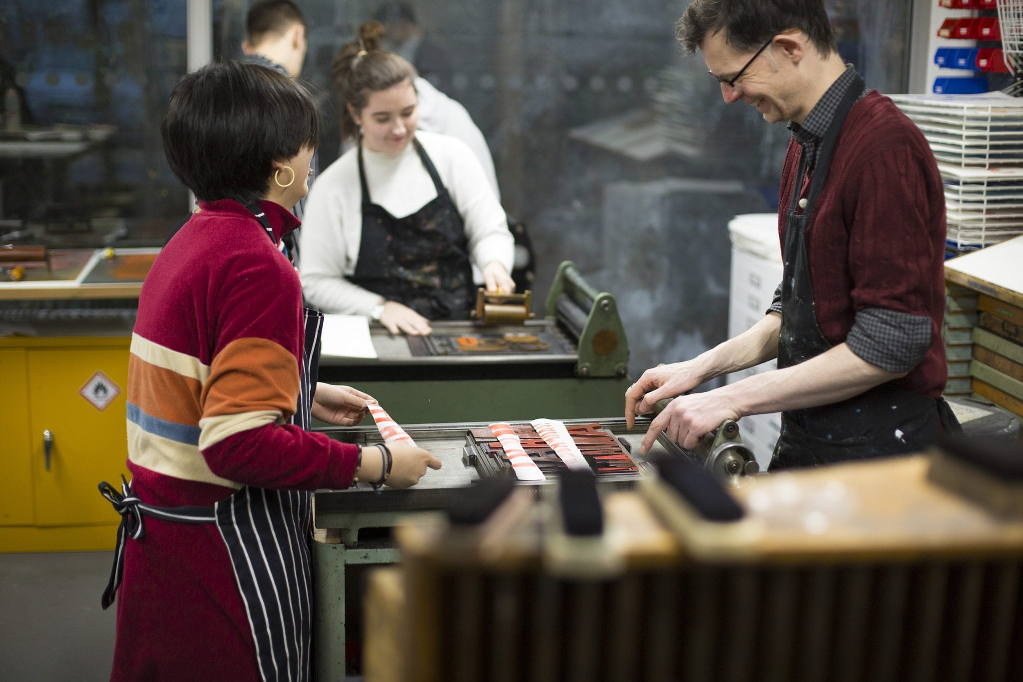 Letterpress Workshop Master Class with David Armes