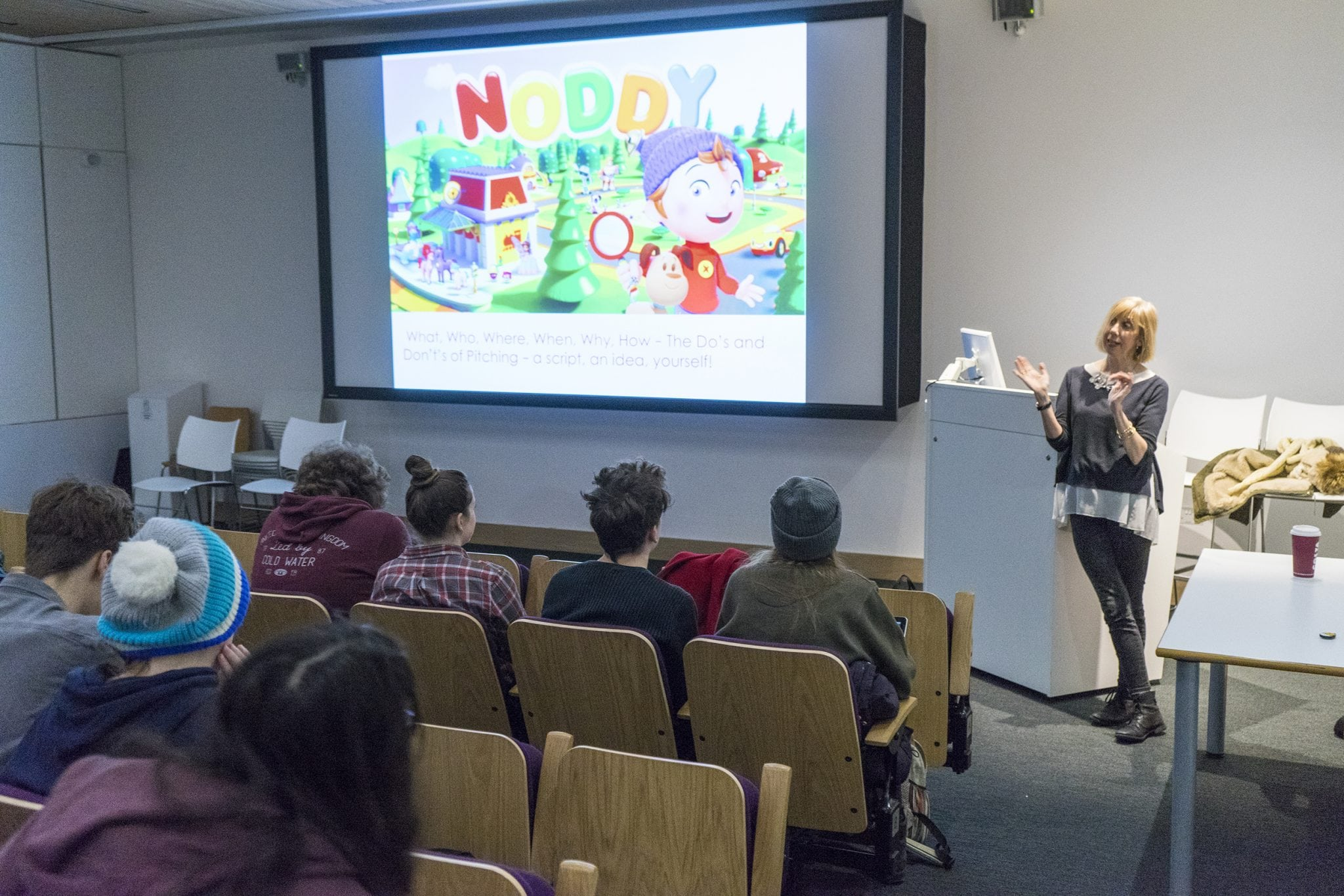 BA (Hons) Animation Production Lecture: Spotlight on Annika Bluhm