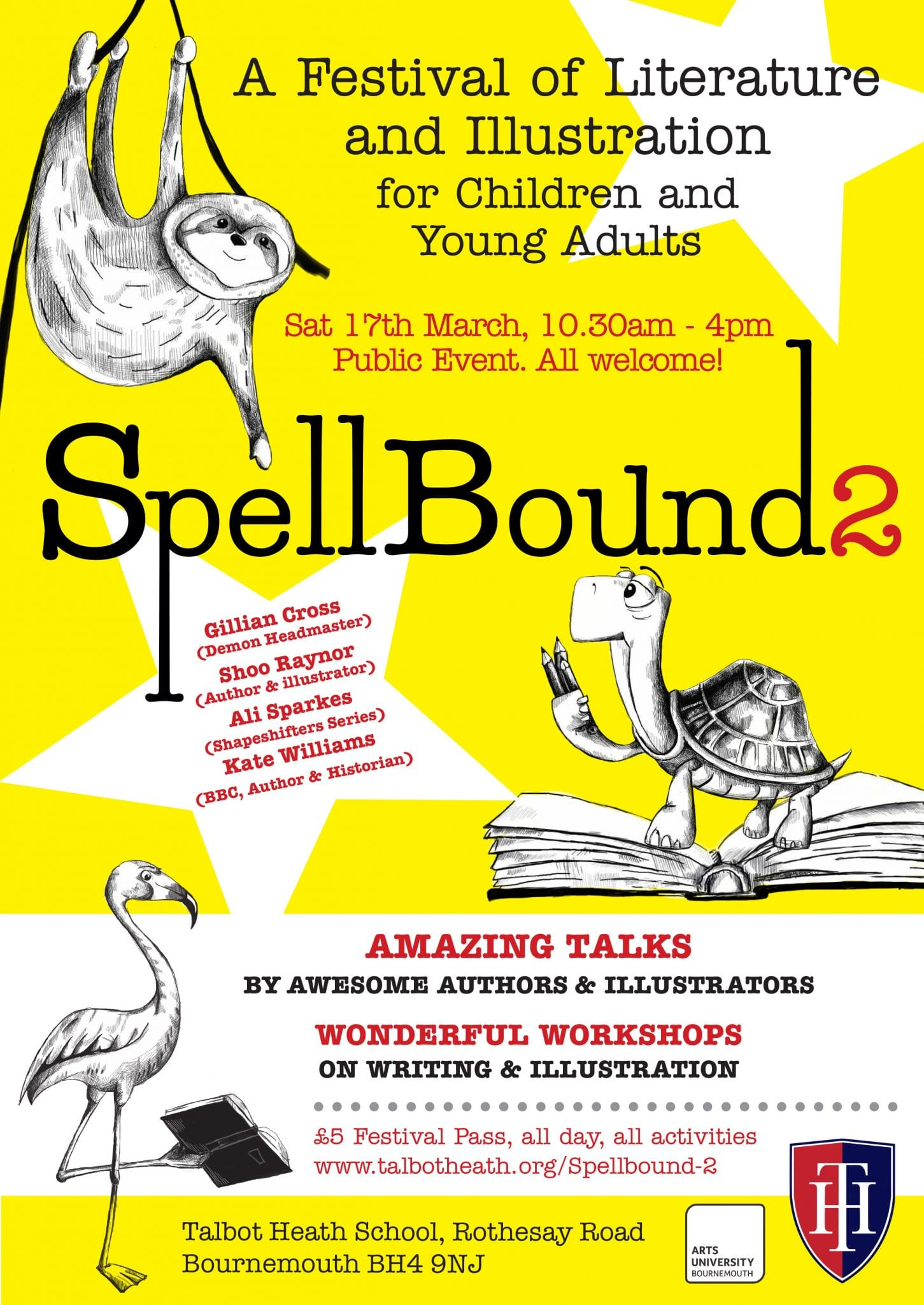 AUB Collaborate for Spellbound 2 Festival of Literature and Illustration