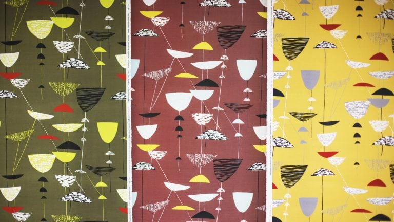 Lucienne Day exhibit banner