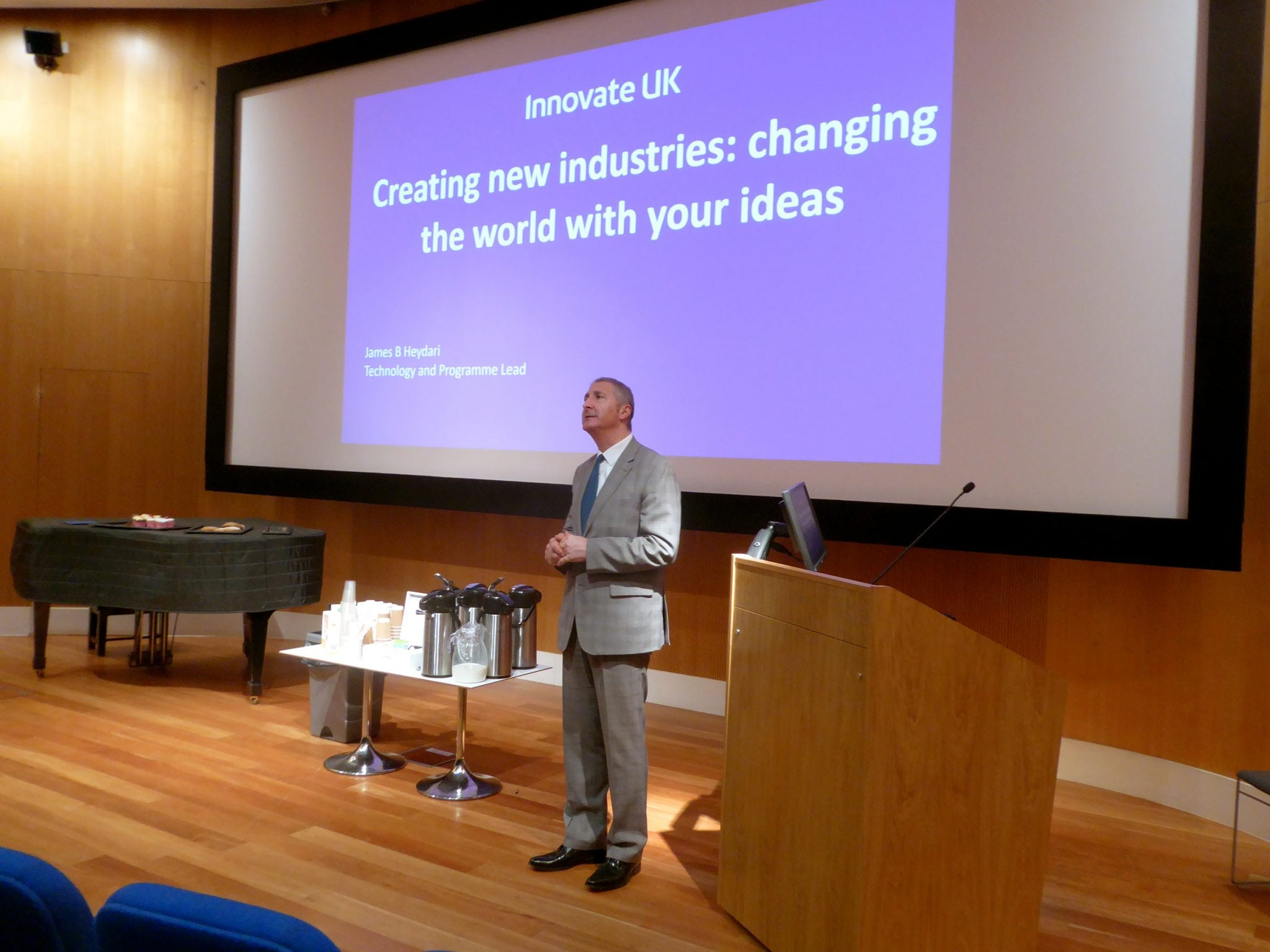 Innovate UK: Creating New Industries and Changing the World