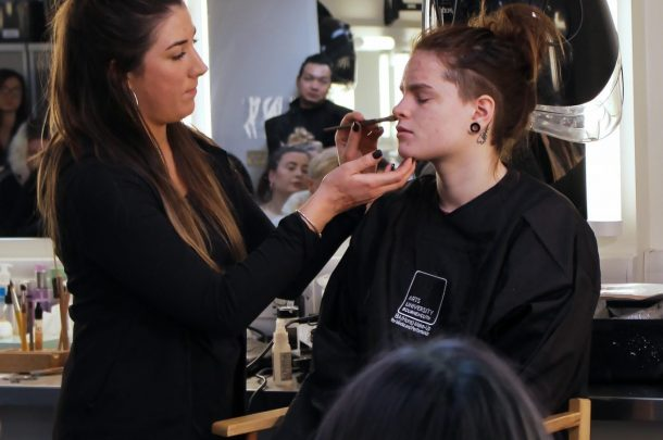 TILT Visit BA (Hons) Make-up for Media and Performance Students