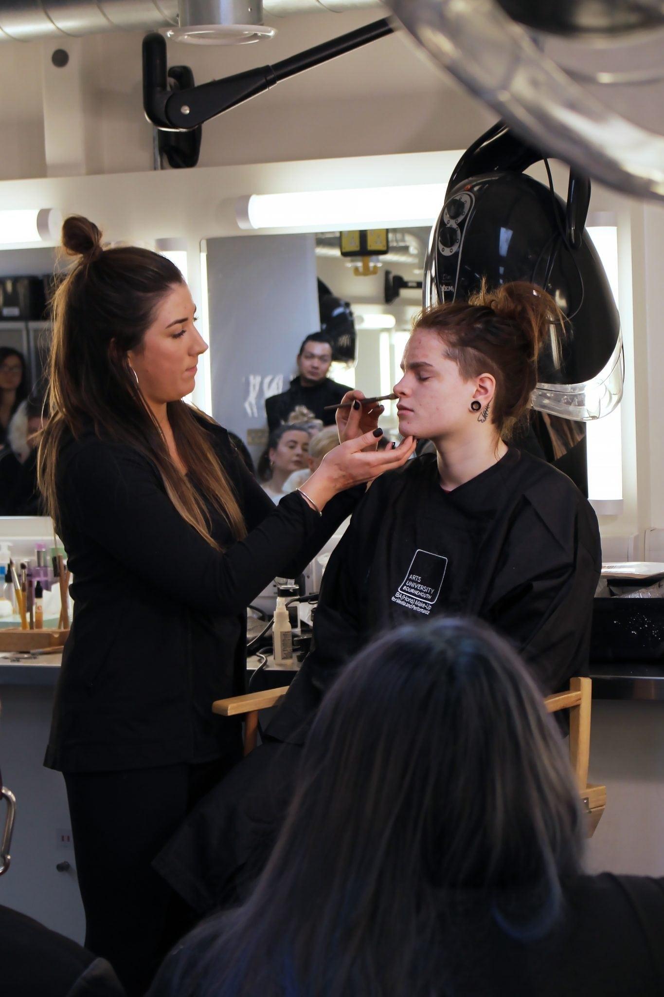 TILT Visit BA (Hons) Make-up for Media and Performance Students