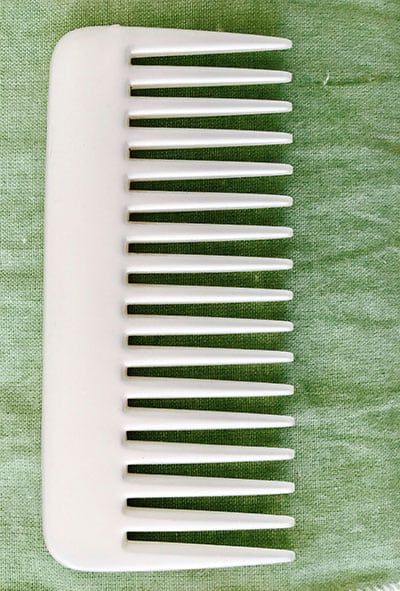 Comb photographed by Anuja Khandelwal