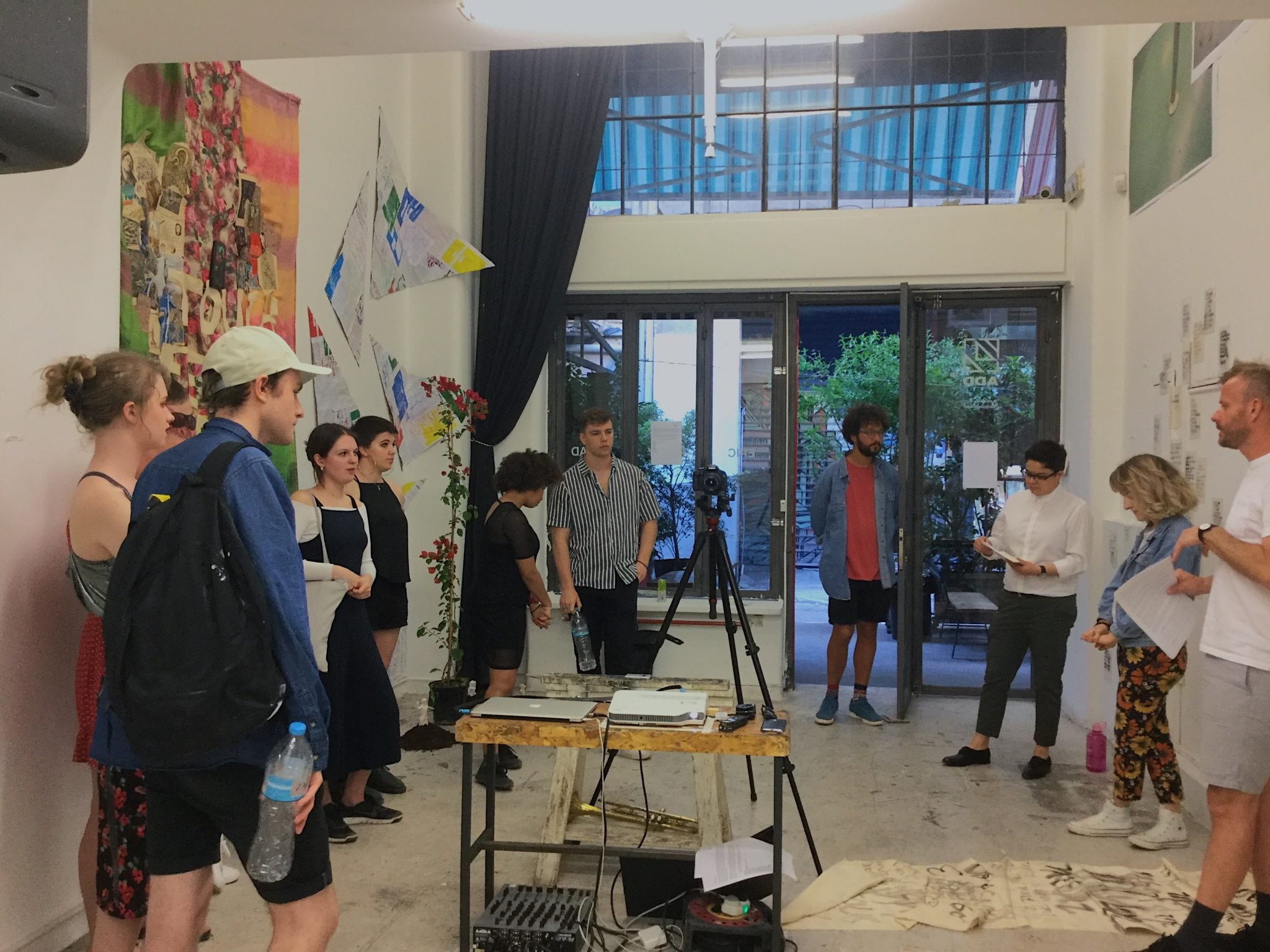 Aisthetikos – Athens residency for first-year Fine Art students