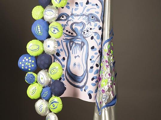 BA (Hons) Textiles work by Emma Astill