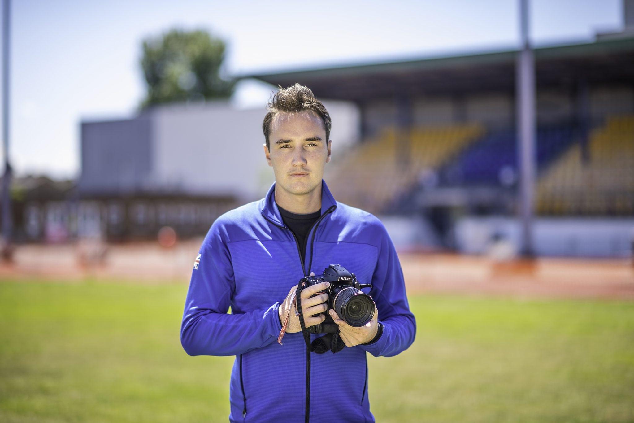 AUB Alumnus, Andy Ryan: Official Olympic Photographer