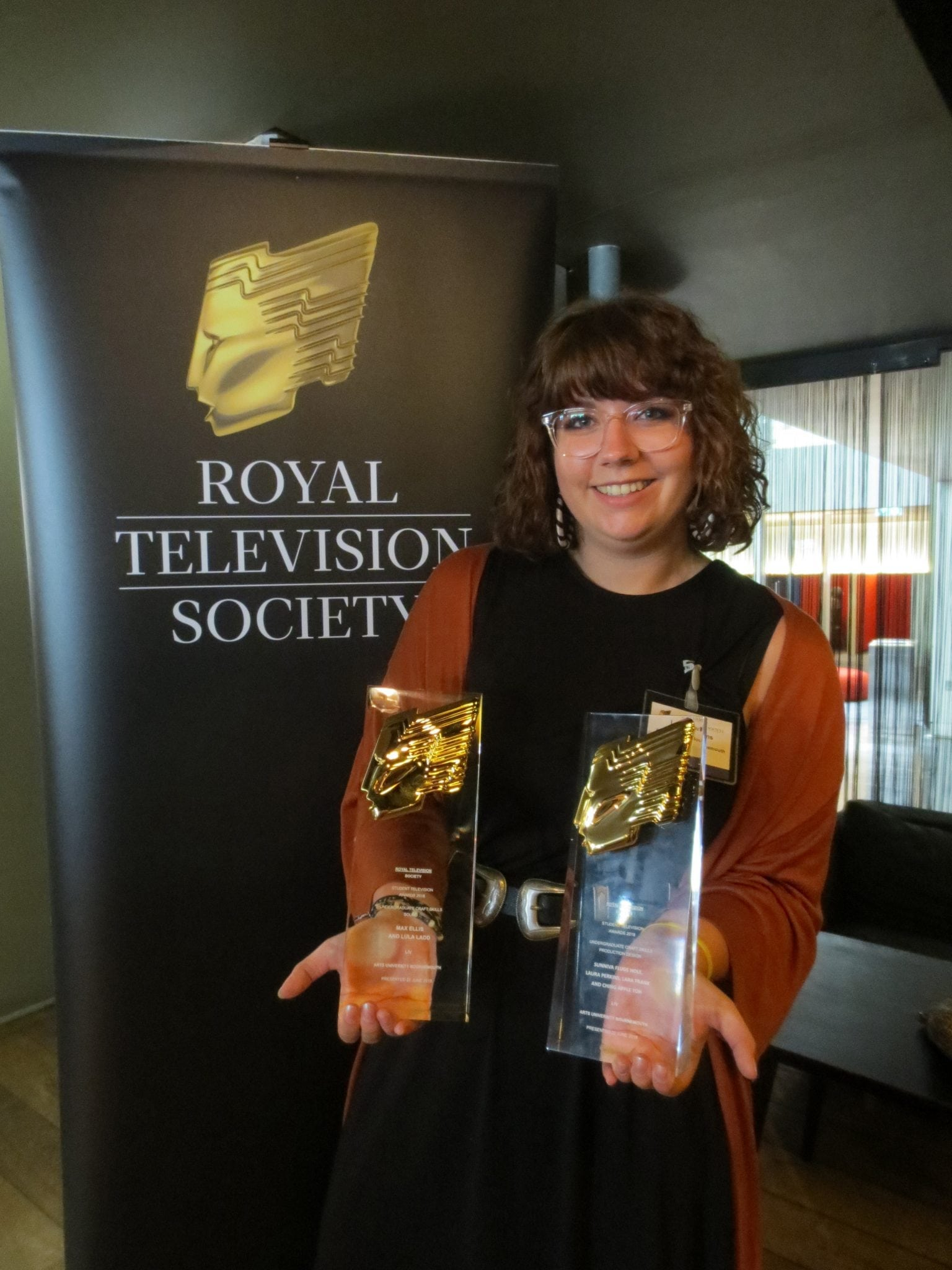 Liv wins two Awards at the national RTS Student Awards