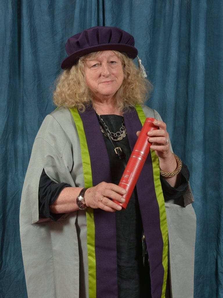 Jenny Beavan OBE, Honorary Fellow 2018