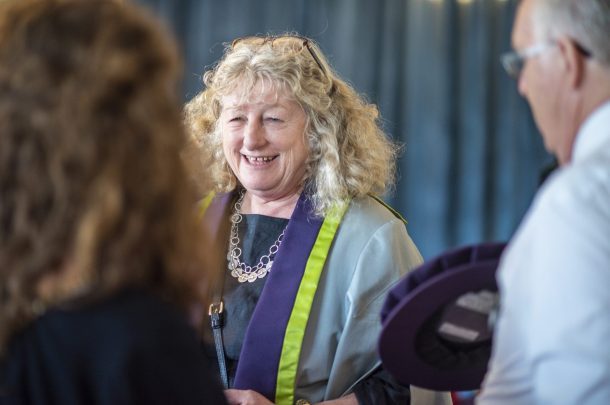 Double Academy Award-winner Jenny Beavan awarded AUB Honorary Fellowship and MA