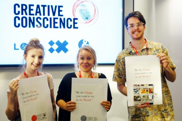 Three AUB Illustration students win at the Creative Conscience Awards