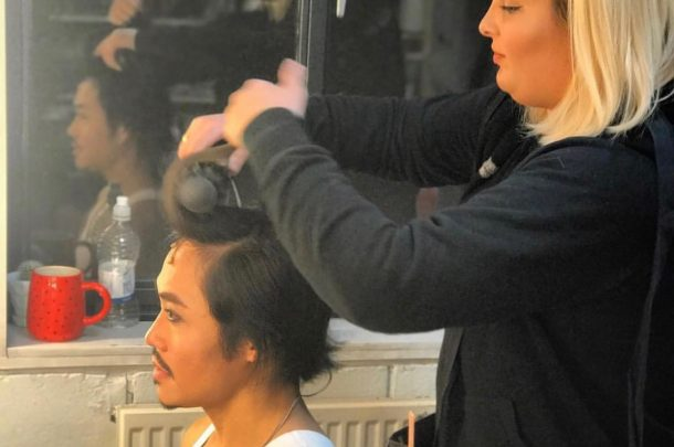 BA (Hons) Make-up for Media and Performance Alumna Samantha Hutchings