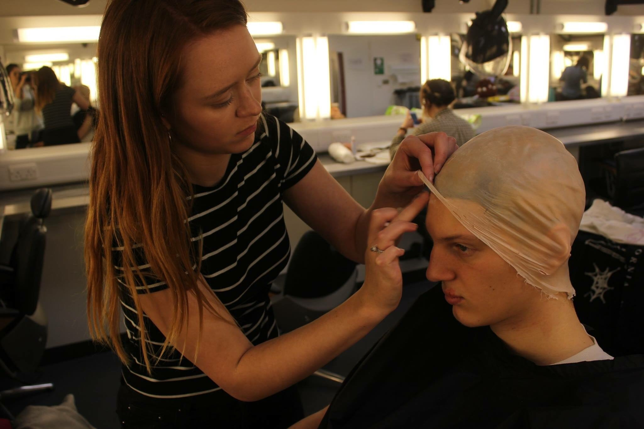 BA (Hons) Make-up for Media and Performance Alumna Flora Davies