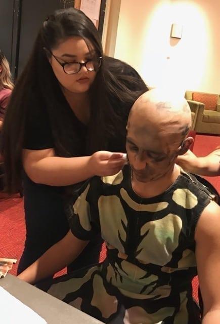 BA (Hons) Make-up for Media and Performance Alumna Giovanna Sauceda