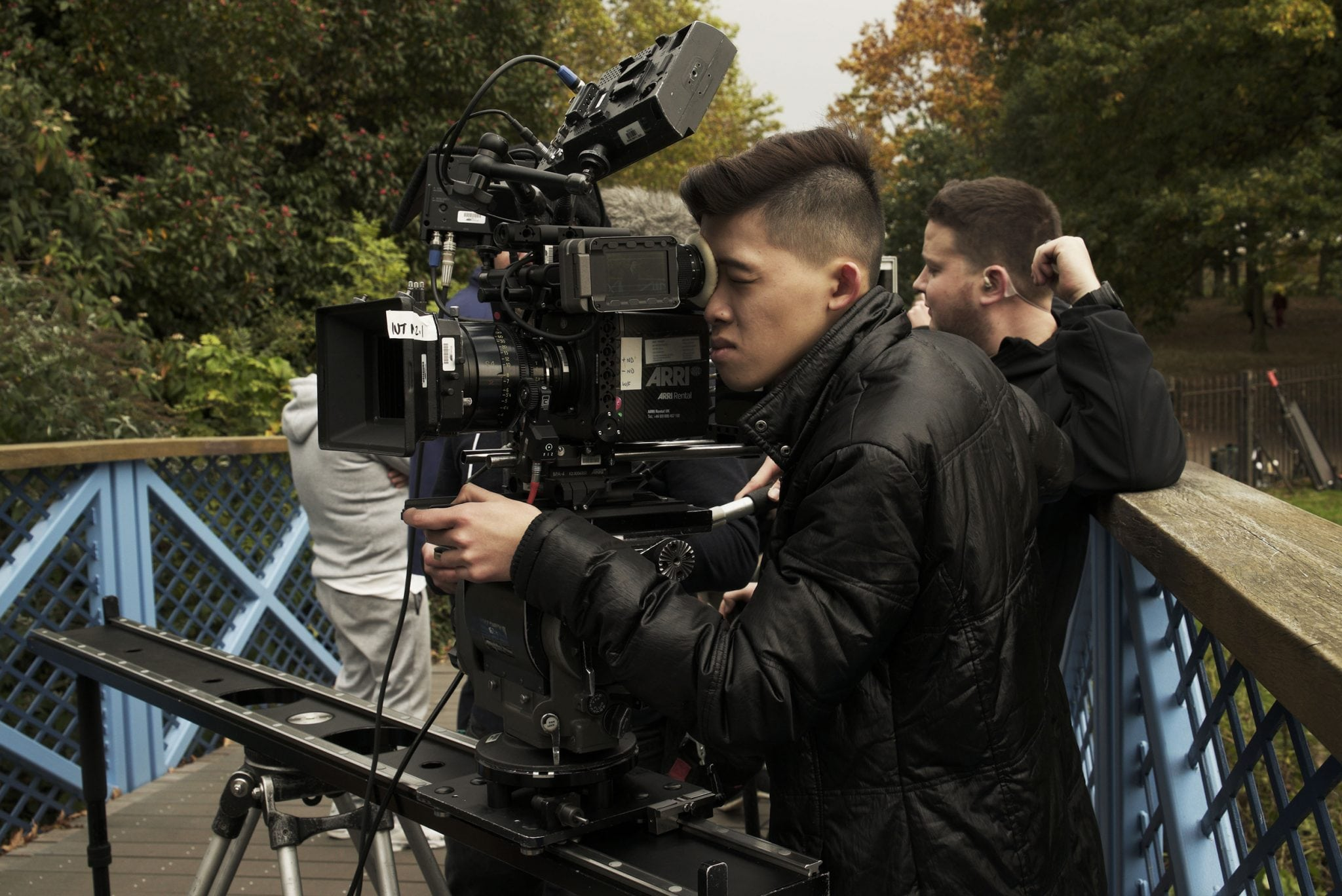 MA Film Production graduate and cinematographer nominated for Hollywood award
