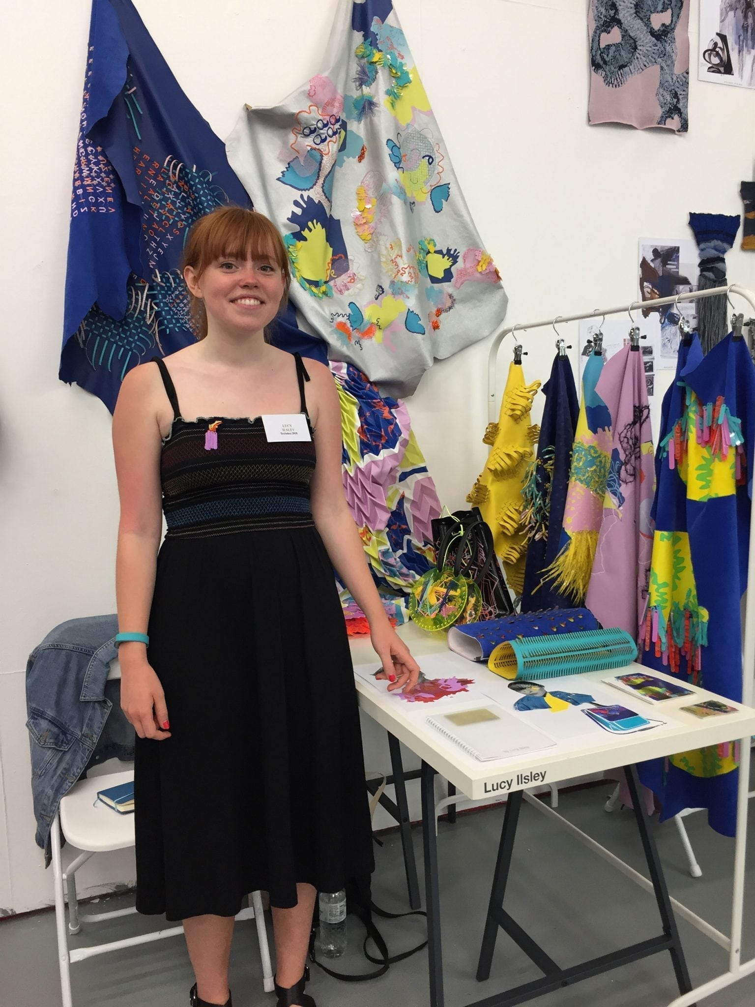 Textiles graduate wins TexSelect 2018 award