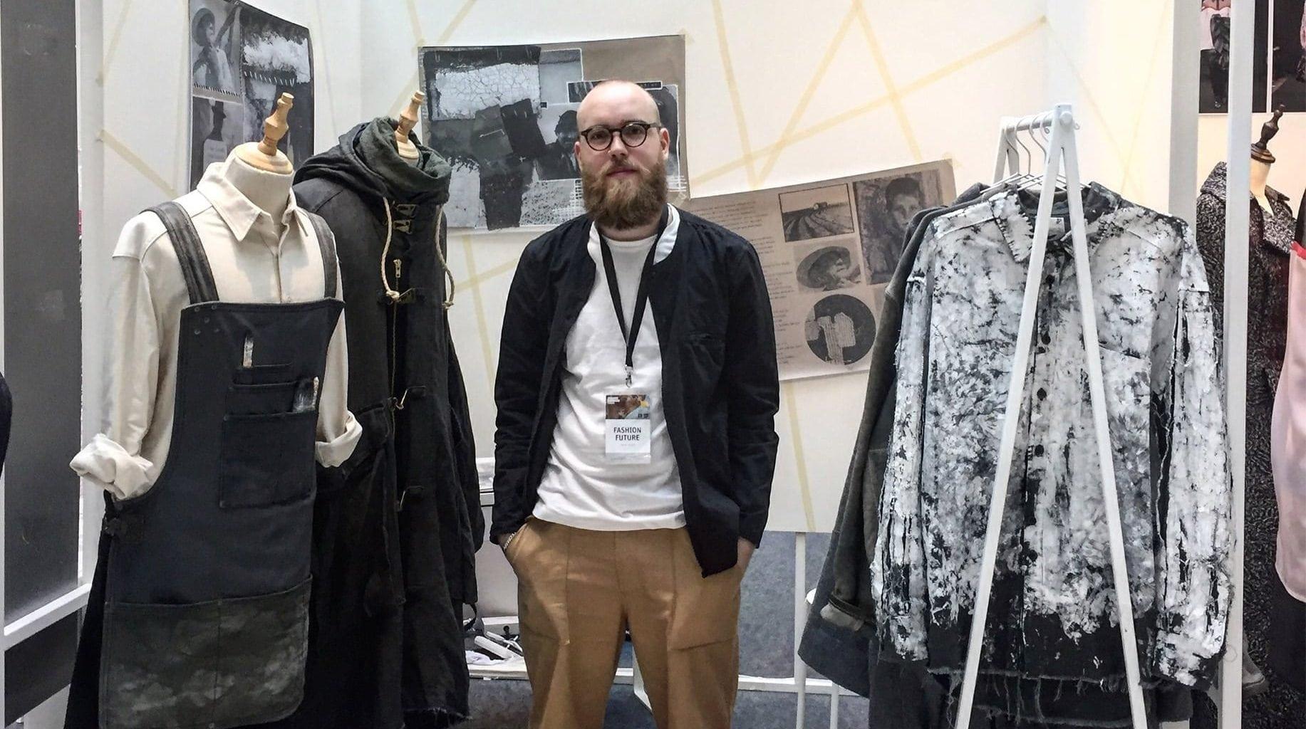 BA (Hons) Fashion alumnus Daniel Rynne