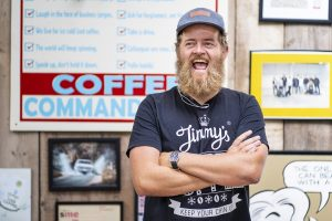 AUB alumnus Jim Cregan of Jimmy's Iced Coffee