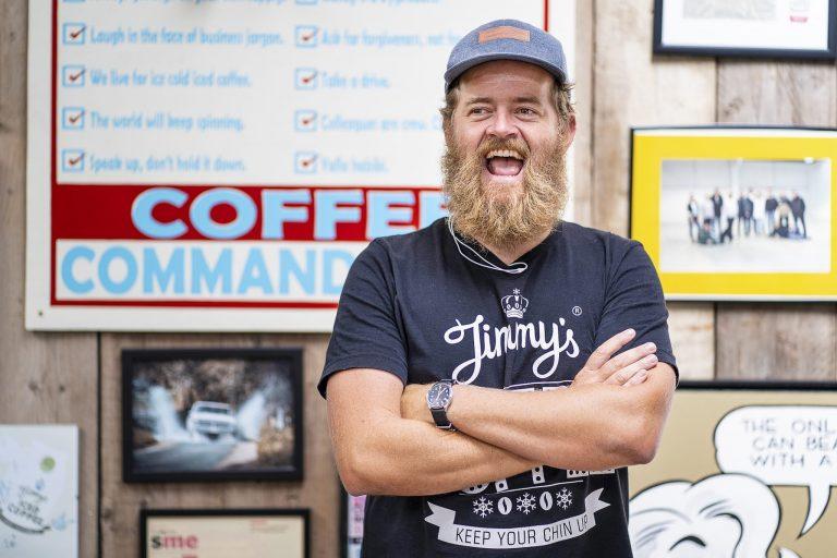 AUB alumnus Jim Cregan of Jimmy's Iced Coffee