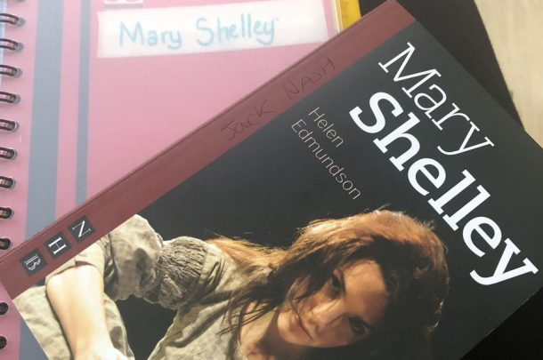 AUB Productions presents Mary Shelley as part of the Shelley Frankenstein Festival