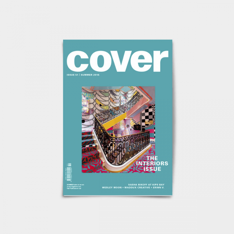 Graphic Design graduate Alice Pomfret, who is launching her own magazine Akin, has worked on COVER