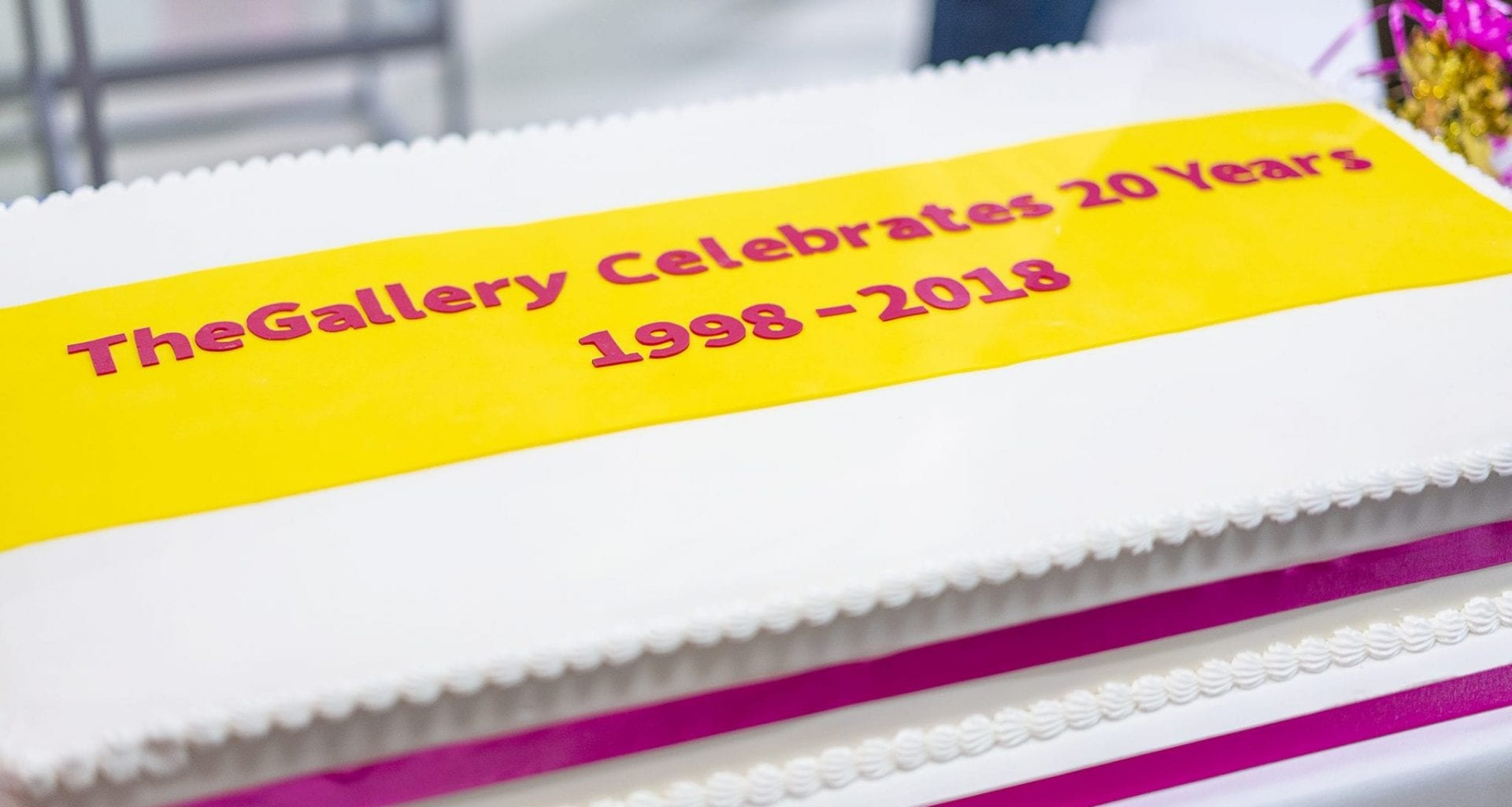TheGallery celebrated its 20th birthday alongside the Suddenly Last Summer 2018 exhibition