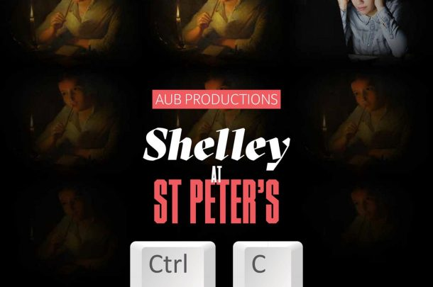 AUB Productions presents Ctrl C as part of the Shelley Frankenstein Festival