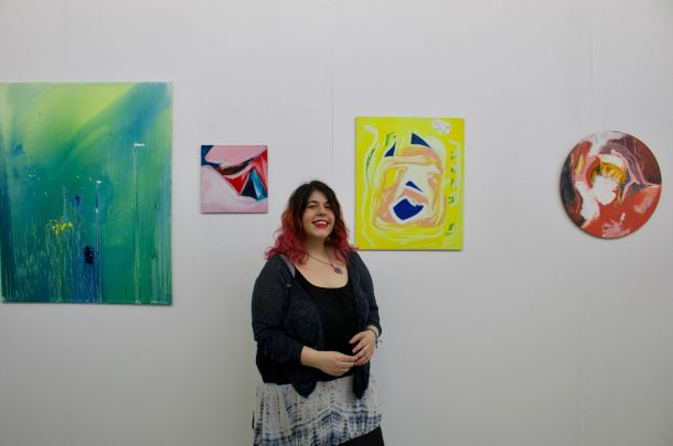 Fine Art Graduate opens first exhibition