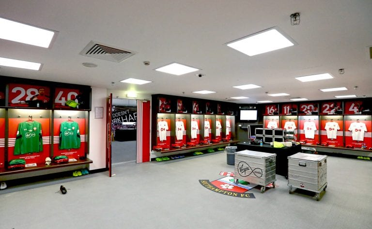 Southampton FC Dressing Room