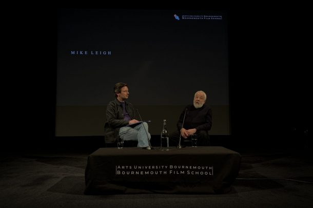 British Film Director, Mike Leigh Attends Bournemouth Film School Industry Event