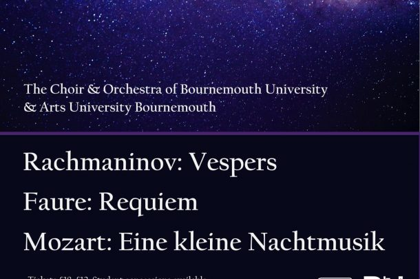 University Music to Perform Mozart, Faure & Rachmaninov in Christchurch Priory Concert