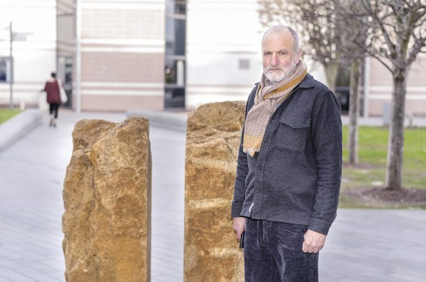 Stone Sculptor Tim Harrisson visits AUB to deliver guest talk