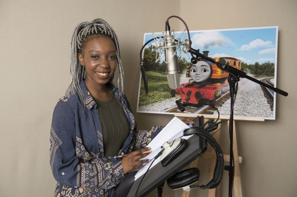 AUB Acting Graduate Voices New Character in Thomas and Friends