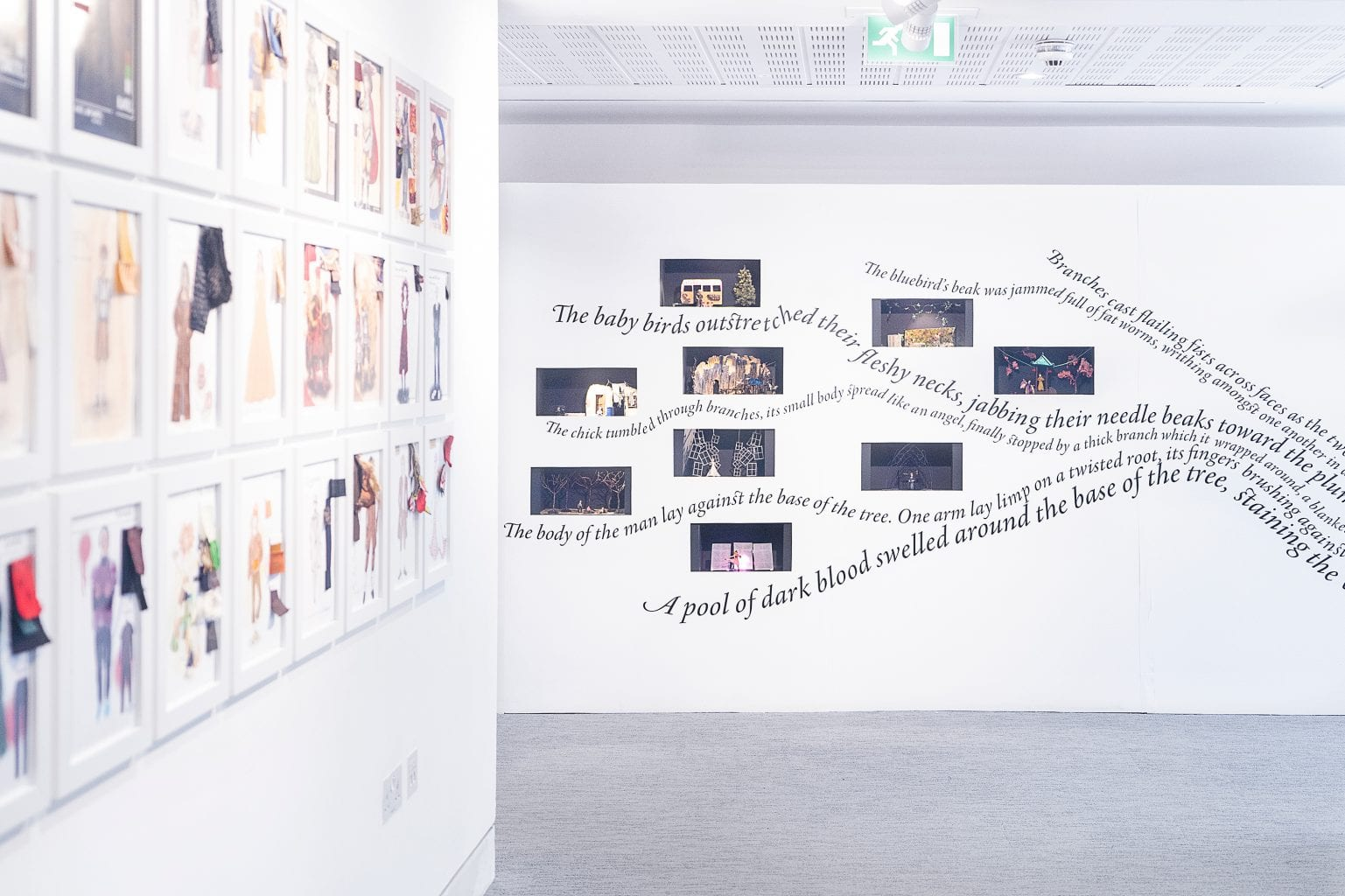 <p>Work by BA (Hons) Creative Writing students for Magical Fairytales Exhibition</p>