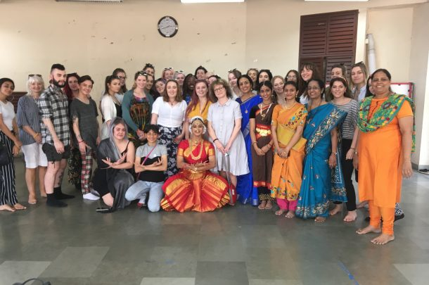 Second and third year BA (Hons) Make-up for Media and Performance students visit Mumbai, India