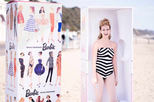 AUB Costume students recreate the very first Barbie doll