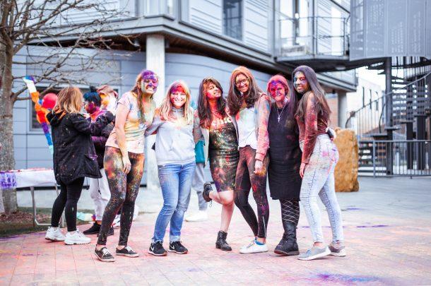 AUB celebrates Holi: The Festival of Colour