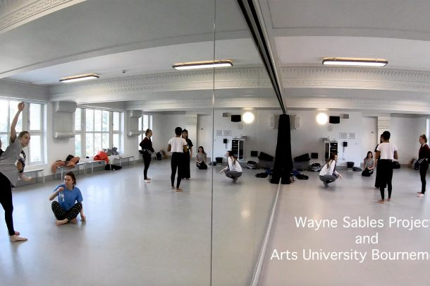 BA (Hons) Dance Students participate in Wayne Sables workshop