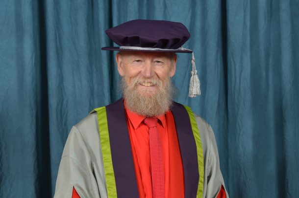 HONORARY FELLOWS – MIKE DAVIES CBE