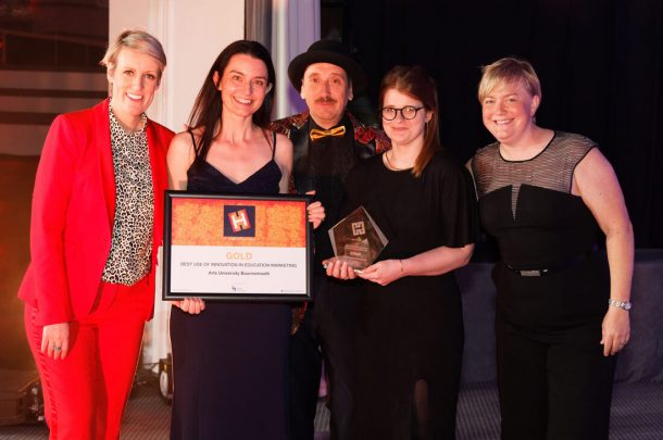 Arts University Bournemouth wins Gold at Heist Awards 2019