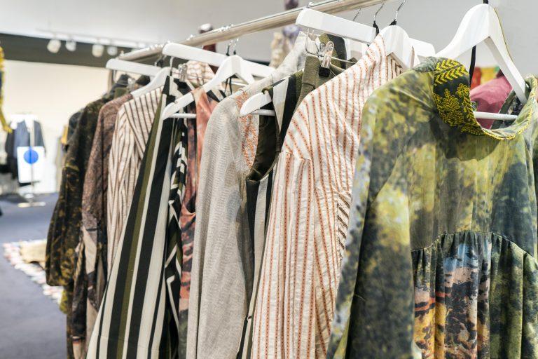 AUB Fashion graduate Janislav Solovjov's collection London Fashion Week.
