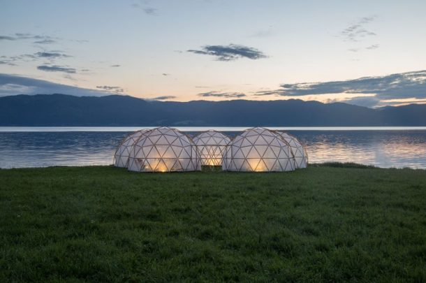 AUB brings UN Summit Pollution Pods to Dorset