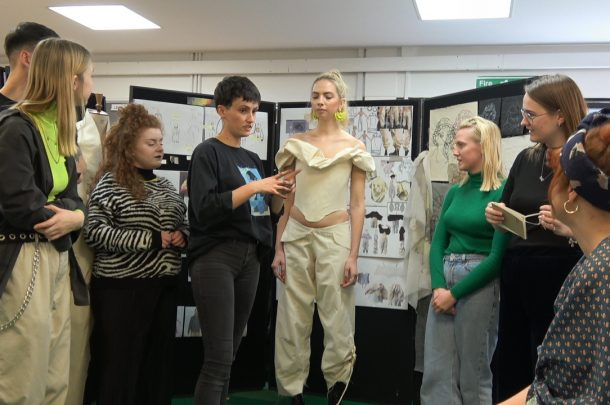 AUB works with Vivienne Westwood to champion sustainable fashion design