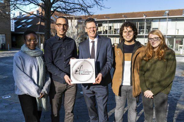 AUB celebrates top environmental award for its eco-friendly campus